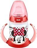 NUK Disney First Choice Learner Bottle  - Vaso aprendisaje de PP con cbquilla blanda de silicona150 ml, colores aleatorios