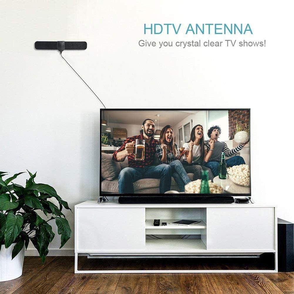 Antena de TV interior de 150 millas de HDTV DVB-T2 ATSC 1080P ...