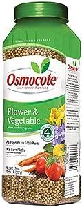 Osmocote 277260 Smart-Release Plant Food Flower & Vegetable, 2 lb, Brown