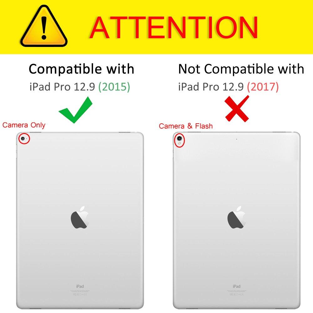 Amazon Com Fintie Ipad Pro 12 9 1st Gen 2015 Case 360 Degree