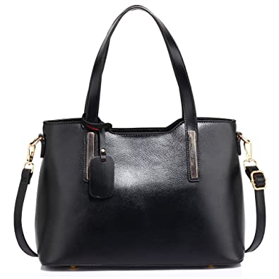 464ba27c77 Womens Leather Bags Ladies Shoulder Handbags Office College Large Tote Large  New