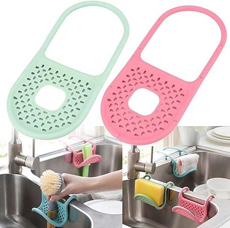 HOME Panier éponge élastique savon cuisine objets de stockage Gadget étagère Organisateur