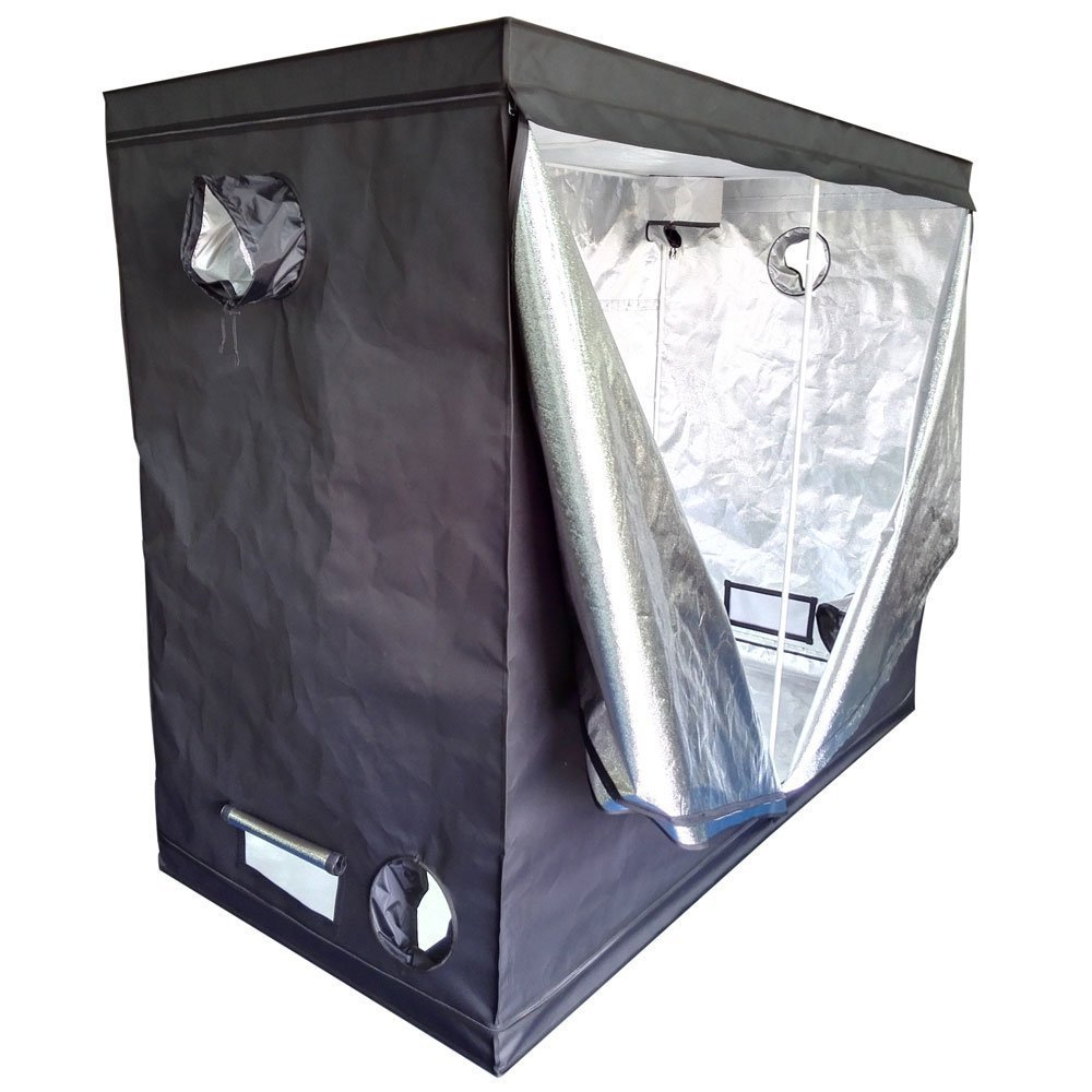 Oshion 96''x 48''x 78'' Large Indoor Hydroponics Mylar Grow Tent Room