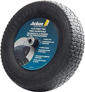 Jackson FFTKBCC Flat Free Wheelbarrow Tire with Knobby Tread, 8-Inch