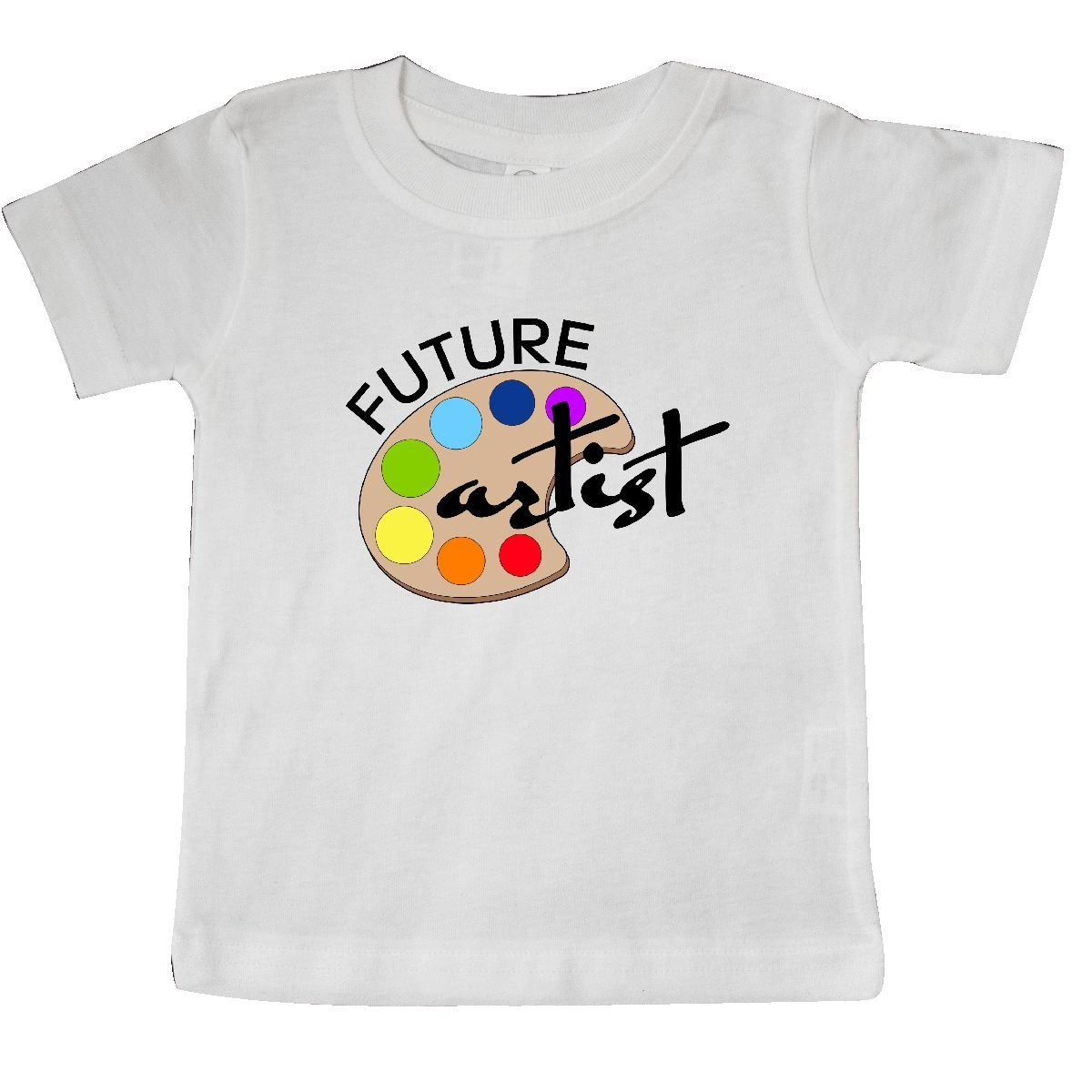 inktastic African American Girl Paint Artist Baby T-Shirt Painter