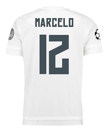 9c198ac4f4556 Adidas MARCELO  12 Real Madrid UEFA Camiseta 1ra Champions League Juventud  2015 2016 (