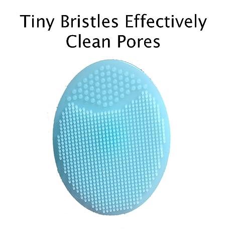 Amazon.com: Esponja del carbón de leña de Konjac, cojín limpiador de poros, y cepillo limpiador facial en 1 set. Perfecto paraun regalo.