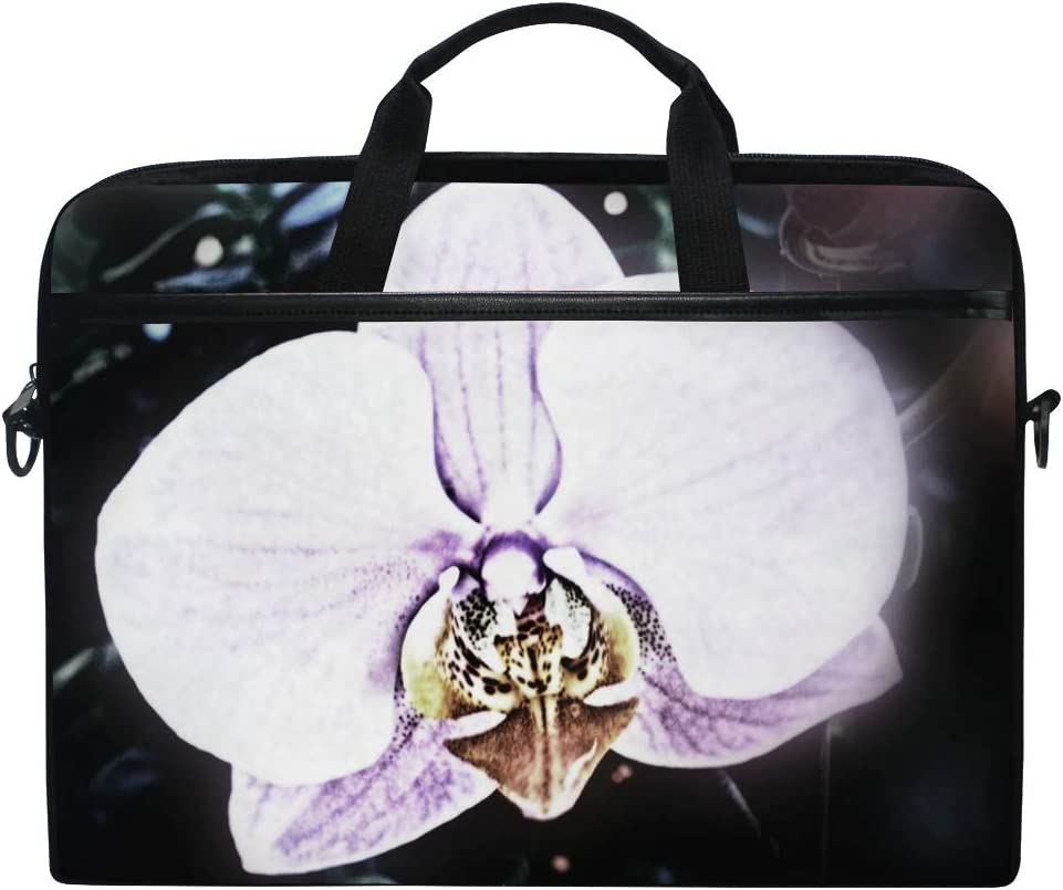 Handbags Shoulder Bags Suitable for 15 Inch Computers Briefcases Quiet Orchid Mens and Womens Computer Bags
