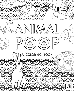 animal poop a coloring book - Coloring Book Images