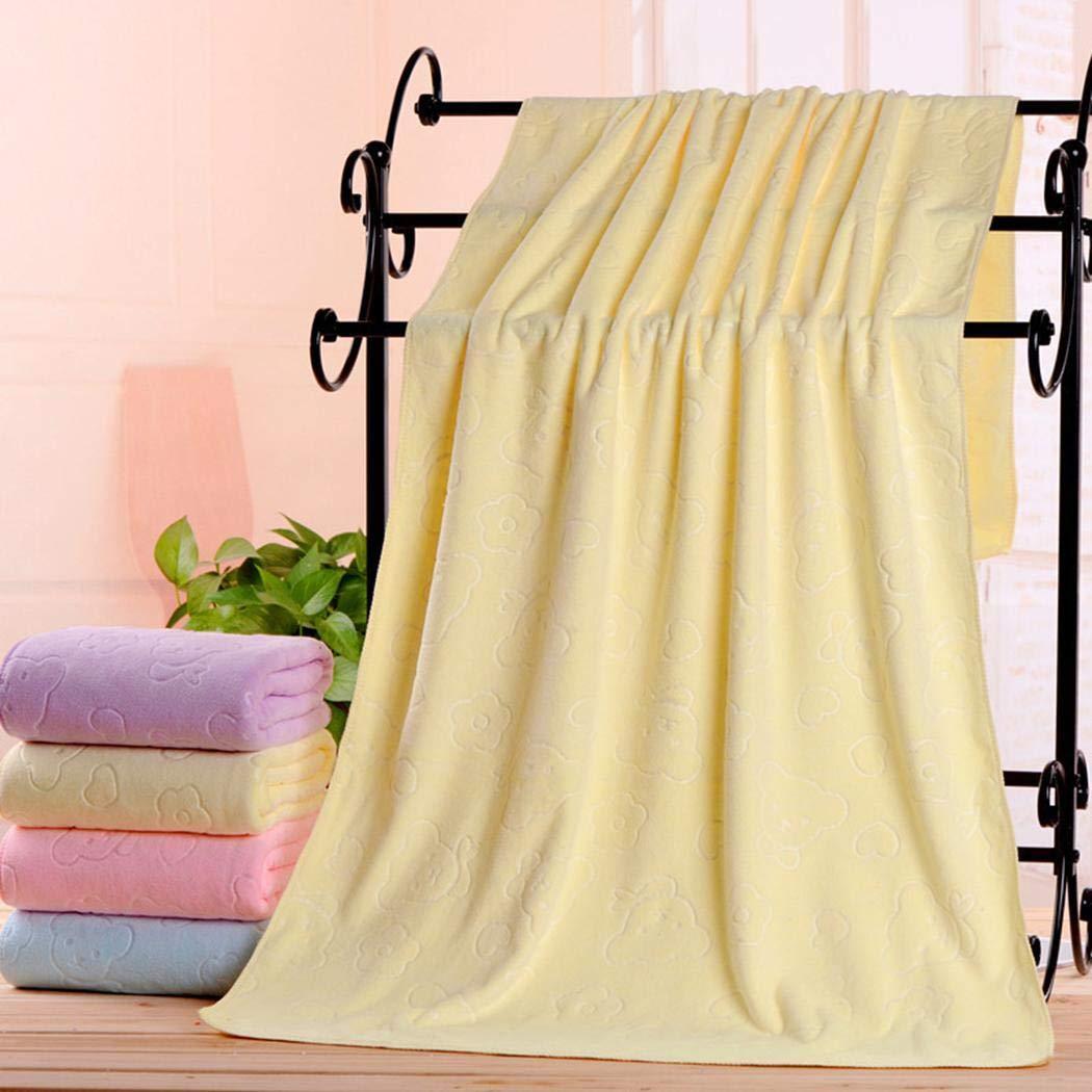 Iekofo 3Pcs//Set Bath Towel//Square Towel,Bathroom Soft Water-Absorbing Square Towel Bath Towels Set
