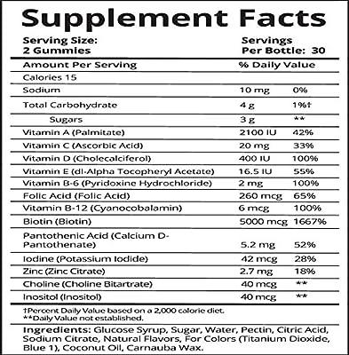 SugarBearHair Vitamins (3 Month Gift Pack Free Brush)