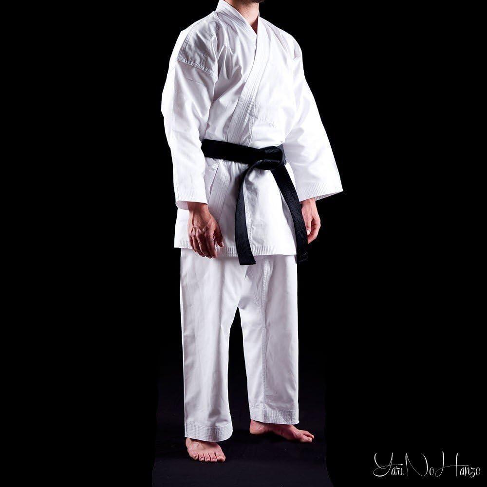 Karate 9oz 100/% cot/ón Uniforme de Karate blanco 1//140cm