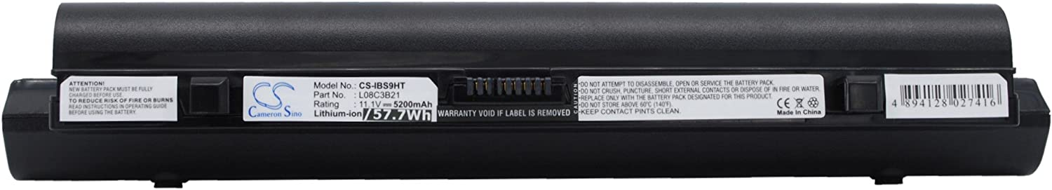 Replacement Battery for Lenovo ideapad S10, ideapad S10 20015, ideaPad S10 4231, ideaPad S10C, ideapad S10e, IdeaPad S10e 4068, ideapad S10e 4187, ideapad S10L, ideaPad S12, ideaPad S12 2959