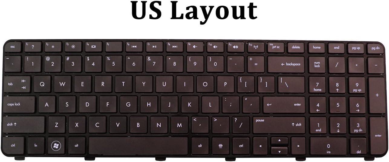 FOR HP Pavilion DV7-6100 DV7-6165US LW460UA DV7-6169NR LW468UA US Keyboard