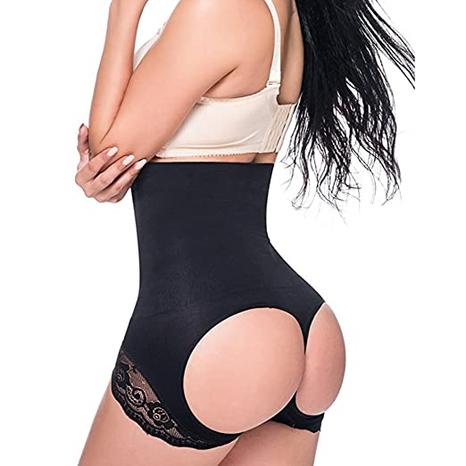 e9eb20b123a Amazon.com  Jason Helen Womens Body Shaper Seamless Firm Tummy Control Butt  Lift Shapewear Bodysuits Waist Cincher Girdle  Clothing