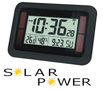 Balance Meteo - He-Clock-84 Reloj Radiocontrolado con Alimentacion Solar