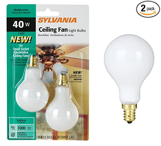 Syl ceiling fan bulb 40w size 2ct syl ceiling fan bulb 40w wht 2ct syl ceiling fan bulb 40w size 2ct syl ceiling fan bulb 40w wht 2ct aloadofball Choice Image