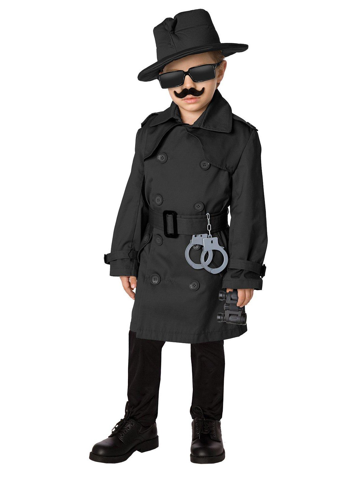 Time AD Inc. 211587 Spy Child Costume Kit - Black - Fits Sizes 4 to 8