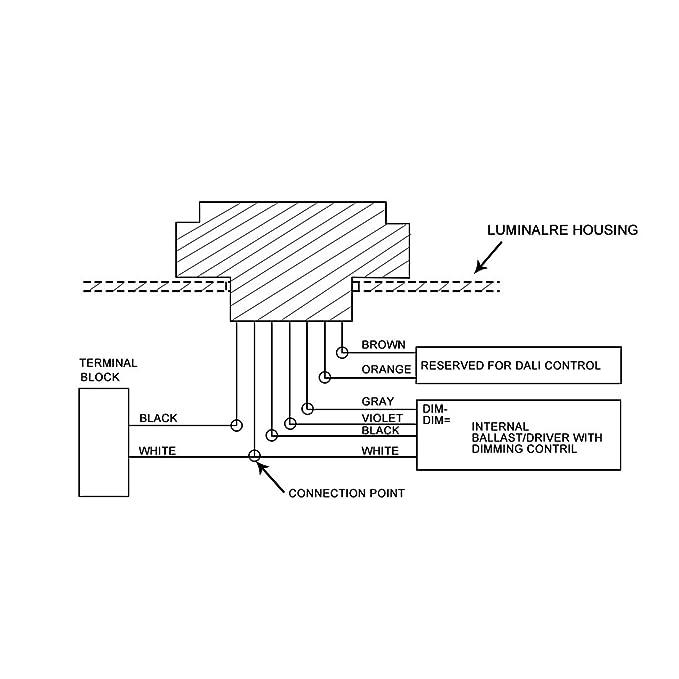 Sourcingmap - 7 Pin Base de Control de atenuación, célula ...