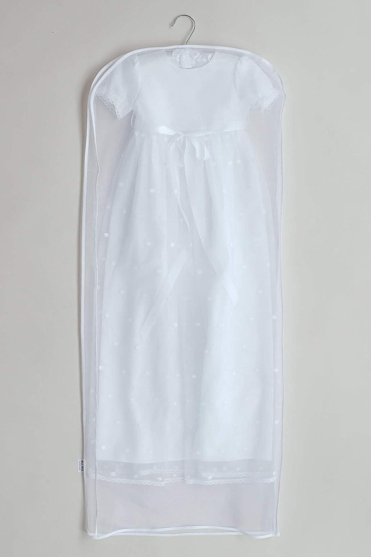 /ÓLI PRIK COPENHAGEN Baby M/ädchen und Junge Kleidersack zum Aufbewahren des Taufkleides Taufkleidung