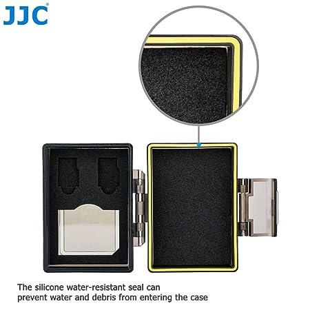 JJC Batería Multifunción y Estuche de Memoria Compatible con la 1 x Batería y 1 x SD, 2 x Micro SD Tarjetas