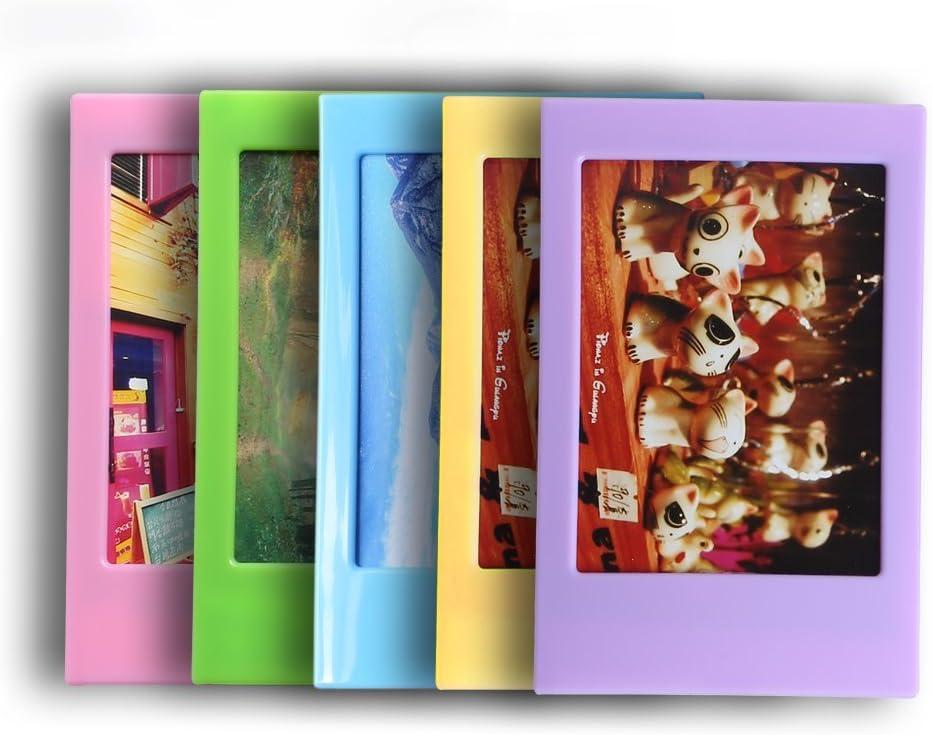 Instant Film Camera Pink SAIKA 11 in 1 Accessories Set for Fujifilm Instax Mini 9 Mini 8 Not Include Case Version Mini 8