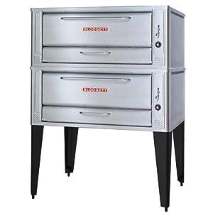 "Blodgett 1048-Double - 60"" Gas Double Deck Oven"