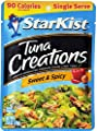 Starkist Tuna Creations, Sweet & Spicy, Single Serve 2.6-Ounce Pouch (Pack of 4) from StarKist Seafood Co.