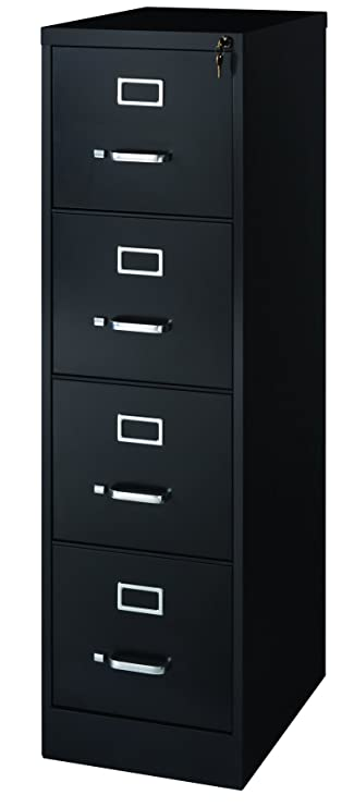 premium selection 8c0b3 9f2cd Office Dimensions Commercial 4 Drawer Letter Width Vertical File Cabinet,  22