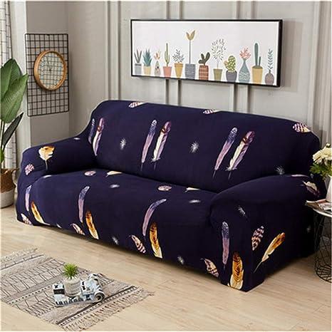 Amazon.com: Big Rose - Funda elástica para sofá de 1/2/3/4 ...
