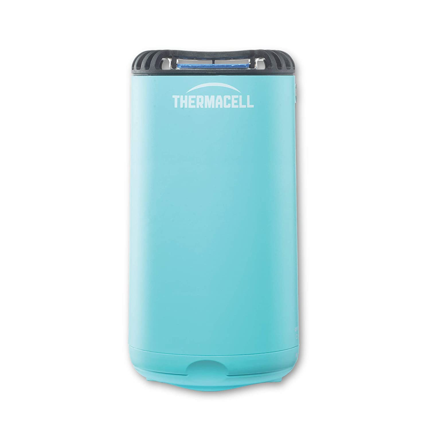 Thermacell Patio Shield Mosquito Repeller, Glacial Blue; Easy to Use, Highly Effective; Provides 12 Hours of DEET-Free