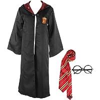 wjjoy Harry Robe Potter Gryffindors Unisex Child Adult Halloween Cosplay Costume