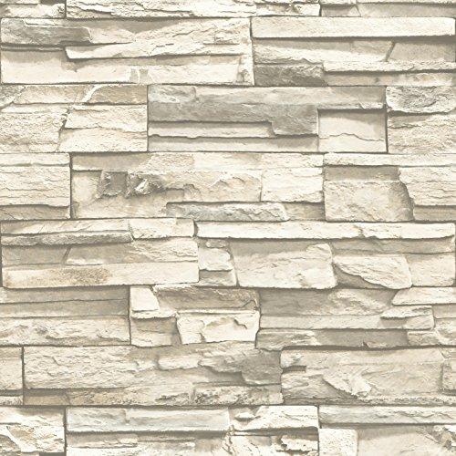 RoomMates RMK9026WP Natural Stacked Stone product image