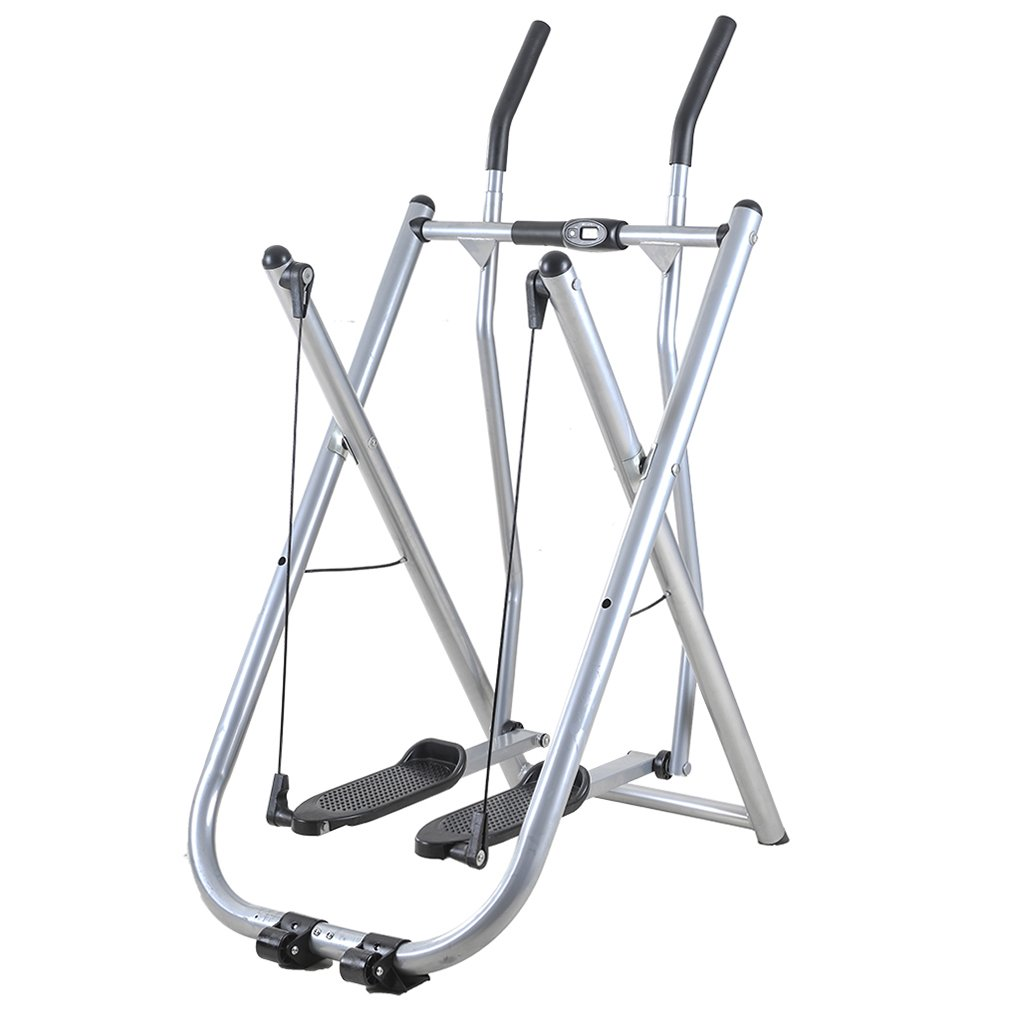 BestMassage Folding Air Walk Trainer Indoor Exercise Machine Stepper w/Pedometer