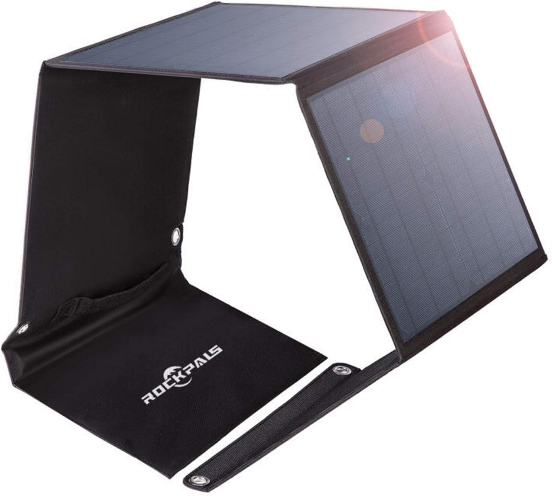 Rockpals ソーラーパネル 50W ソーラーチャージャー