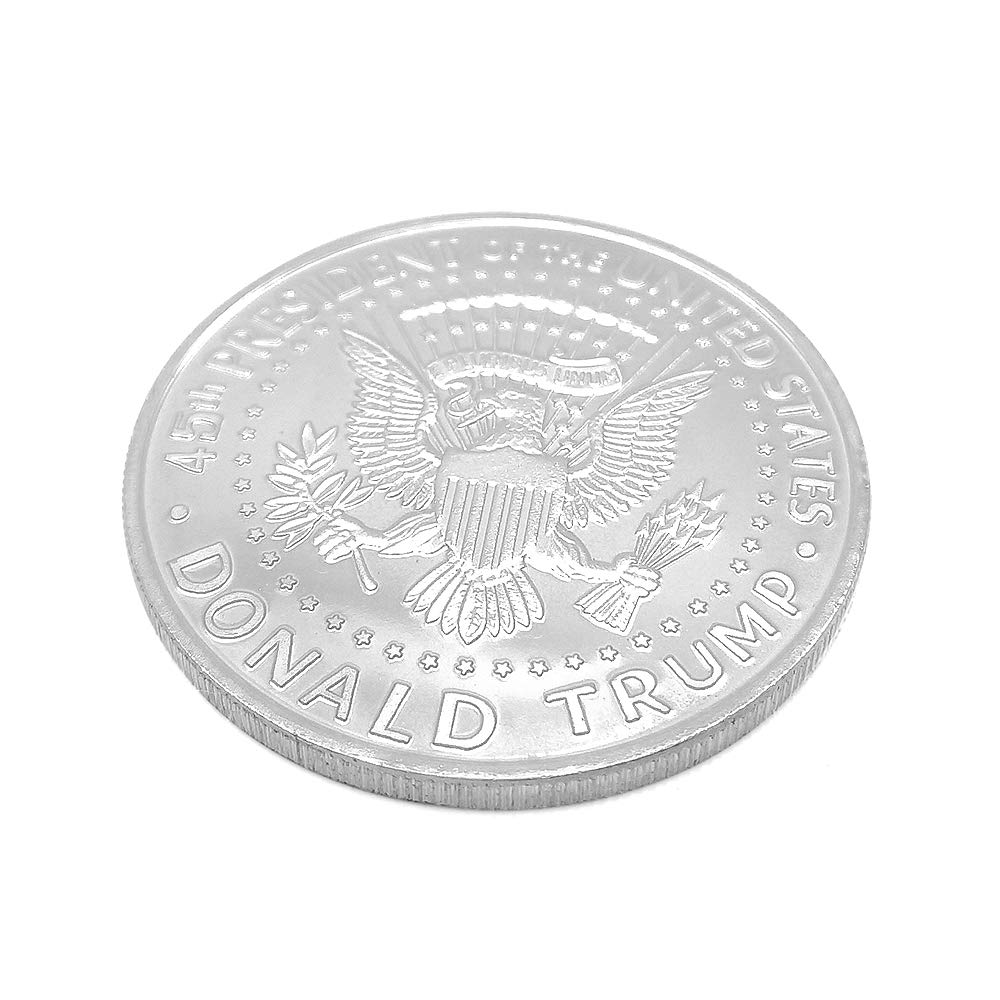 AKDSteel Donald J Trump 2020 Keep America Great Commander in Chief Gold Challenge Coin Gold