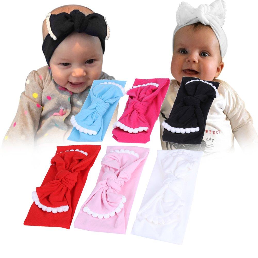 Demiawaking M/ädchen Baby Kinder Satin Stirnband Haarband Zus/ätze