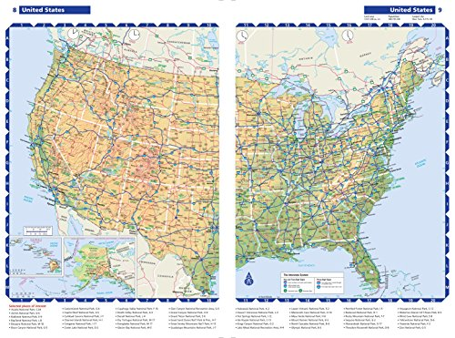 Rand McNally Large Scale Road Atlas Rand McNally Road Atlas - Road atlas of usa