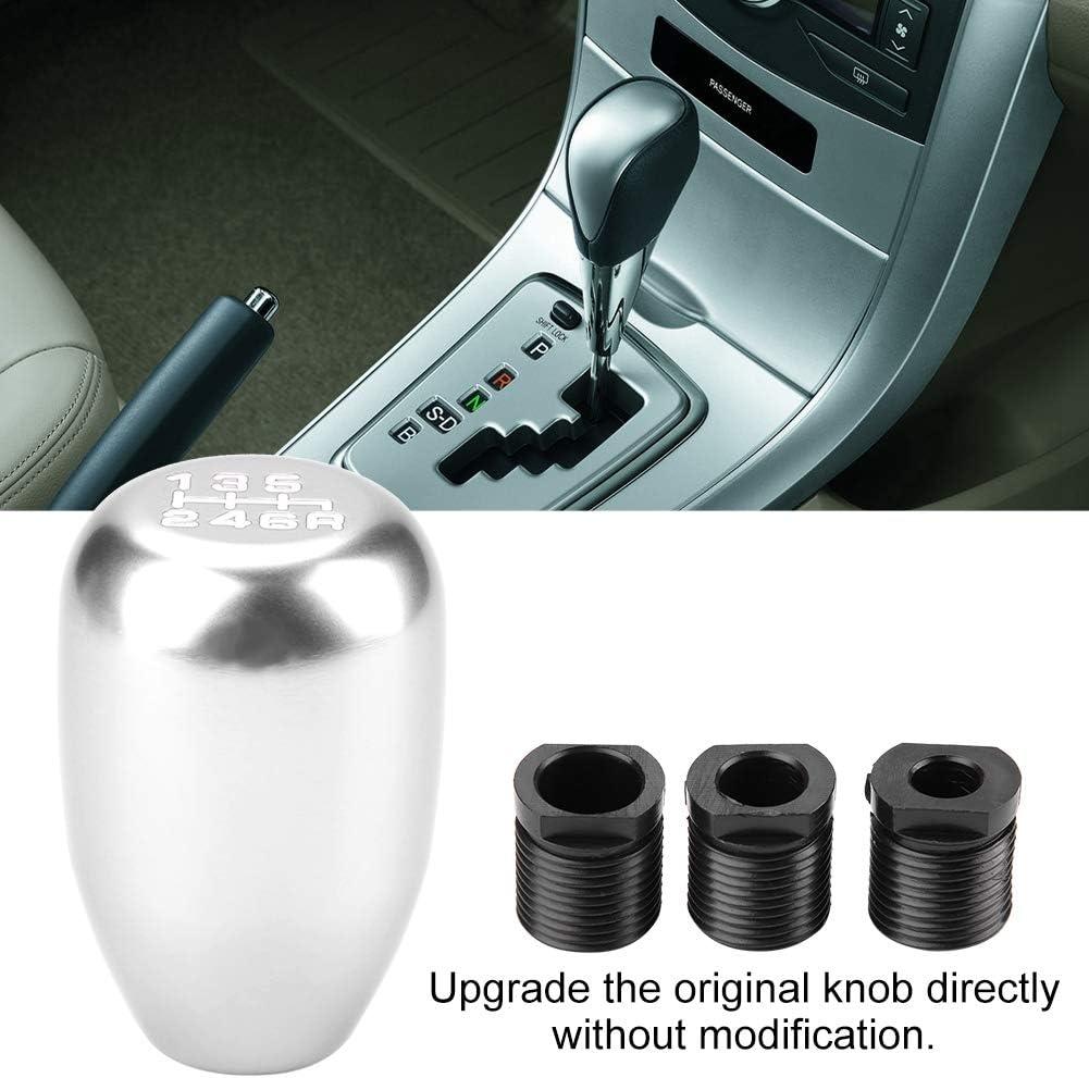 Car Universal Modification Manual Knob Gear Shift Head Shifter 6 Speed Colored Gear Shift Knob