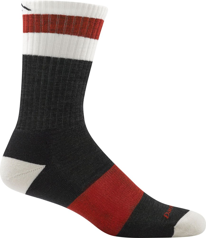 Darn Tough Haselton Hiker Socks - Men's Charcoal Large