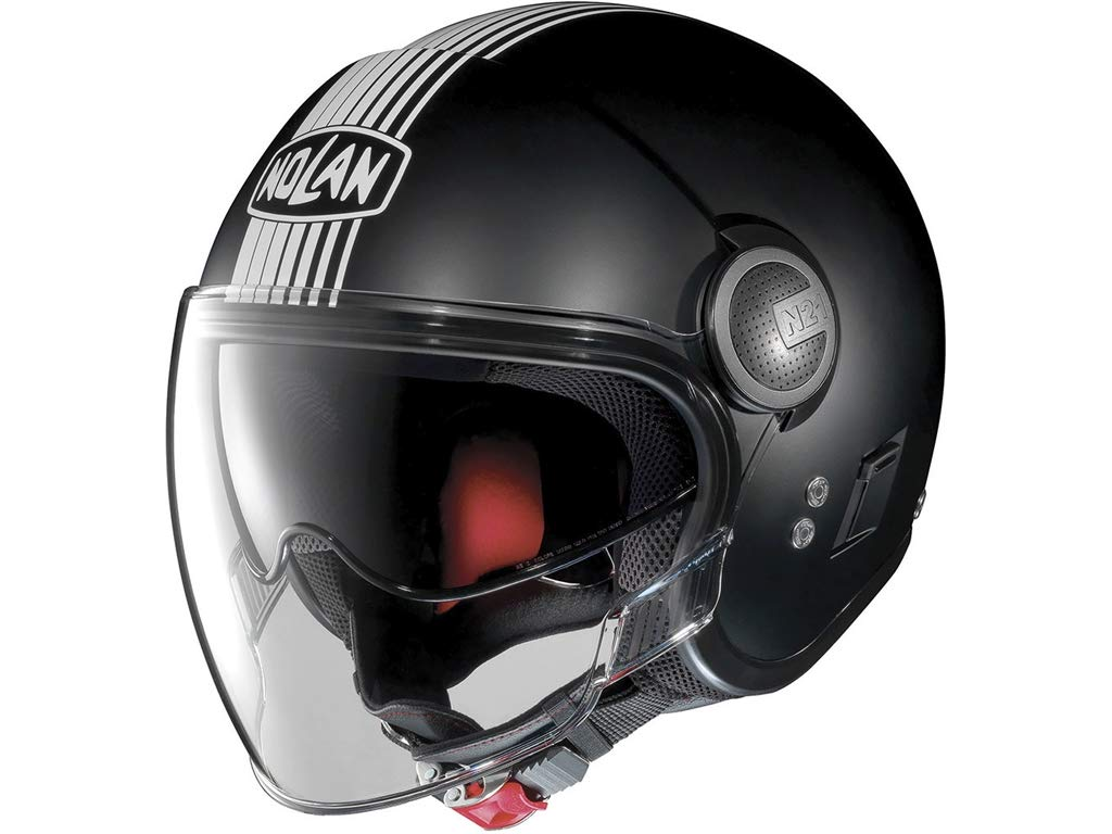 Nolan N21/Visor Joie de Vivre Jet Helmet with Visor Black matt Motorcycle