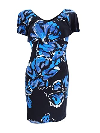 b280464c Lauren Ralph Lauren Womens Tama Eastbound Floral Dress at Amazon Women's  Clothing store: