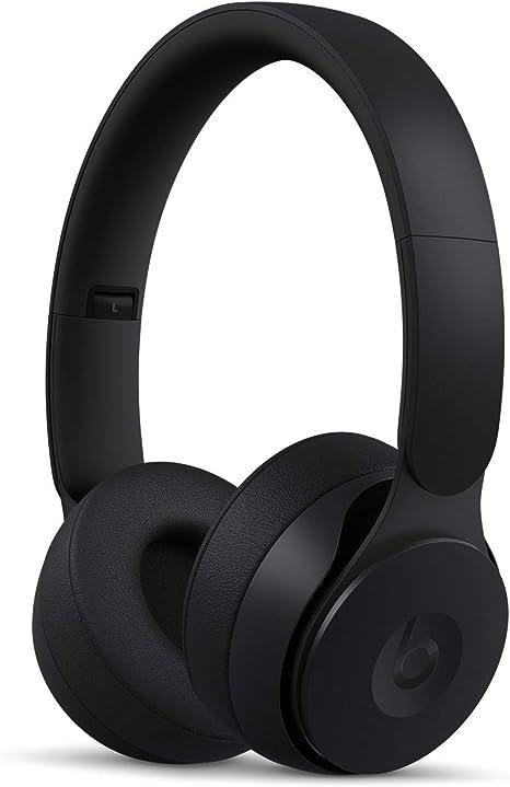 Beats Solo Pro con cancelación de ruido - Auriculares supraaurales inalámbricos - Chip Apple H1, Bluetooth de Clase 1, 22 horas de sonido ininterrumpido - Negro: Beats: Amazon.es