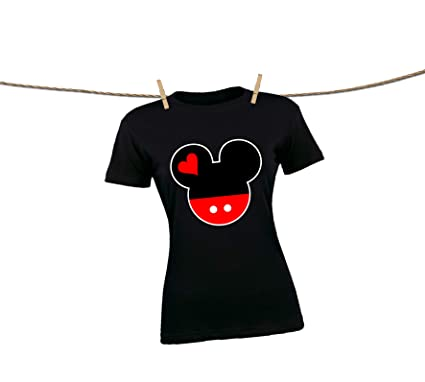 4e4e8125 Natural Underwear Family Vacation Shirts 2019 Mickey Mouse Minnie Mouse  Matching T-Shirts for Women