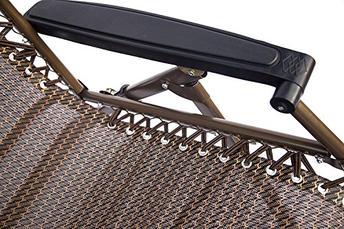 Zero Gravity Style Chair Universal Replacement Lace - One Chair Kit (Contains 4 Strings), Coffee