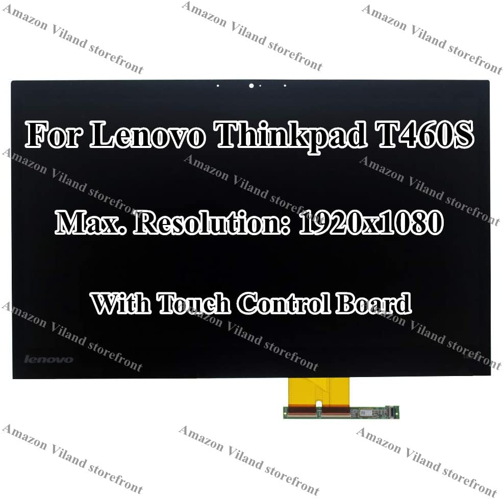 """14.0"""" Full HD 1920x1080 LCD Display Touch Screen Digitizer with Touch Control Board Assembly for Lenovo Thinkpad T460S 20FA 20F9"""