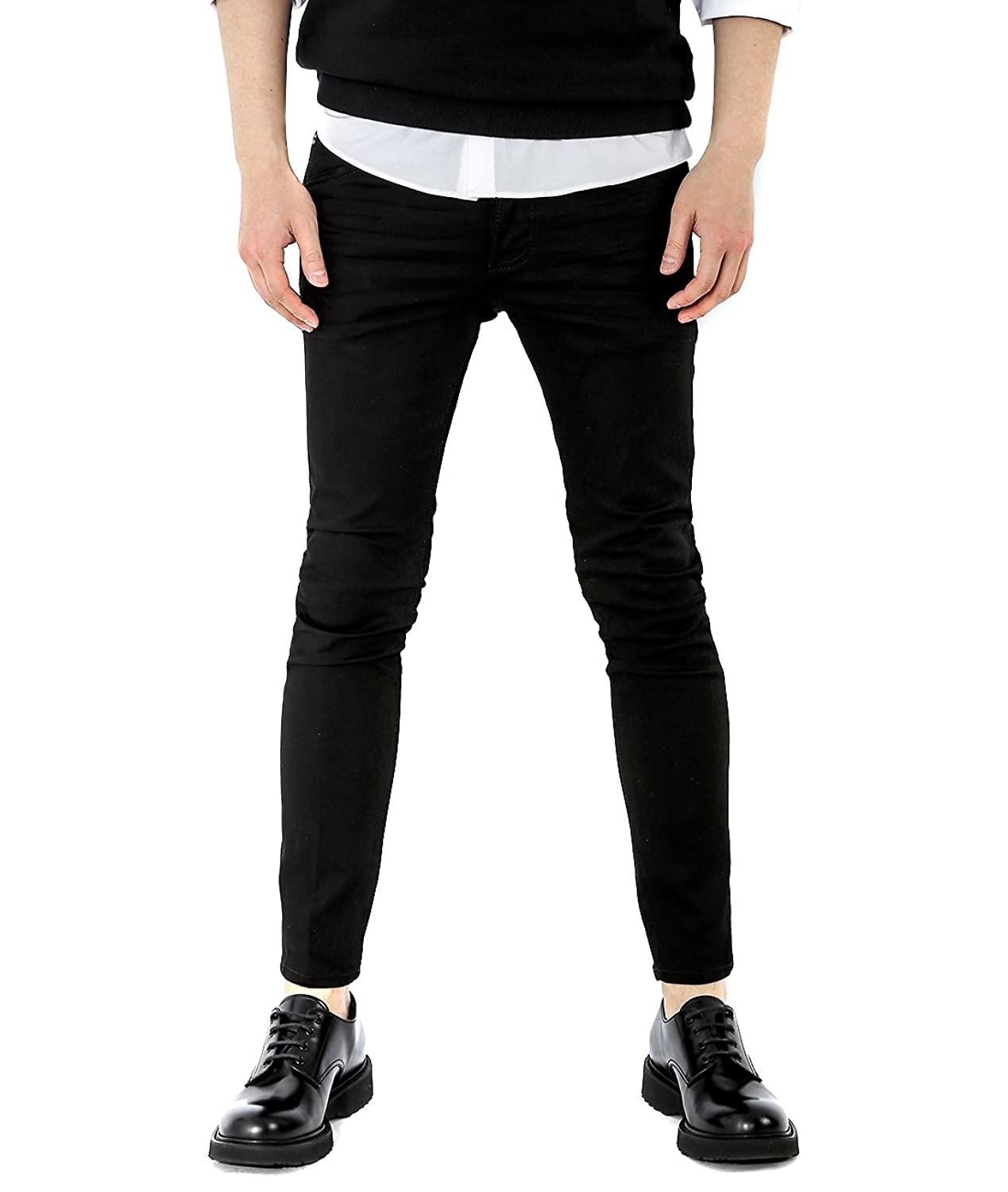 Wiberlux DSquared2 Men's Logo Patch Detailed Skinny Fit Jeans