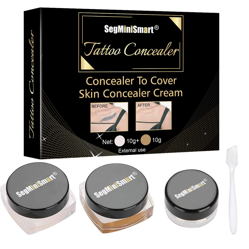 Tattoo Concealer Concealer To Cover TattooScarBirthmarksVitiligo Waterproof Concealer Professional