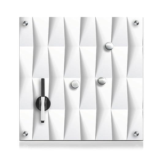 114 opinioni per Zeller 11651Lavagnetta in vetro, legno, Vetro, abstrakt, 40 x 40 cm