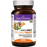 New Chapter Every Man's One Daily, Men's Multivitamin Fermented with Probiotics + Selenium + B Vitamins + Vitamin D3 + Organic Non-GMO Ingredients - 24 ct
